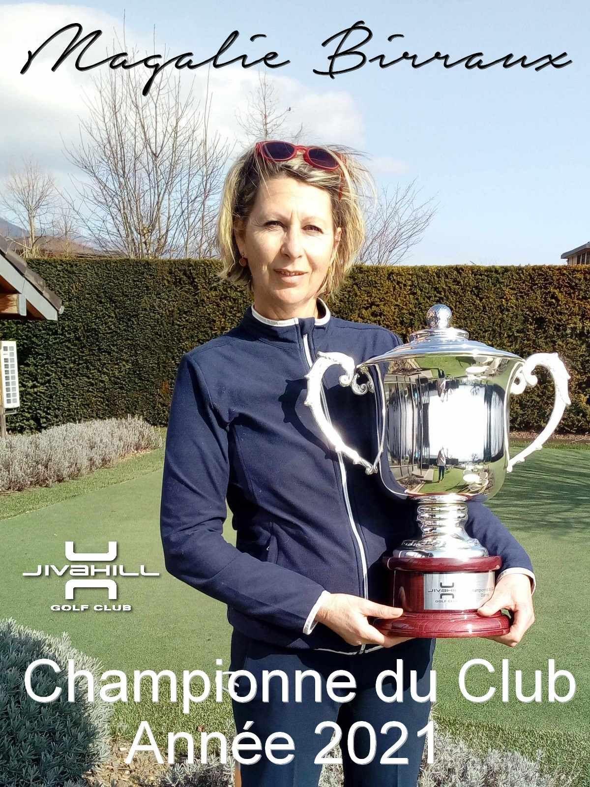 Magalie Birraux, championne 2021